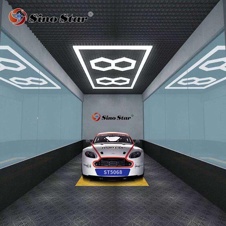 مصنع ST5068 لتلميع السيارات, مشهور في فرنسا مصابيح led سداسية