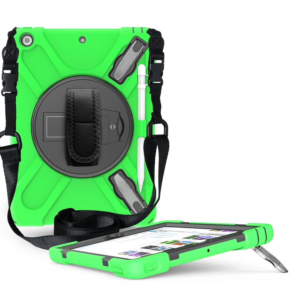 Armor A2200 iPad Heavy A2198 Case Shokproof for A2428 A2270 Cover Kids A2197 10.2 A2429