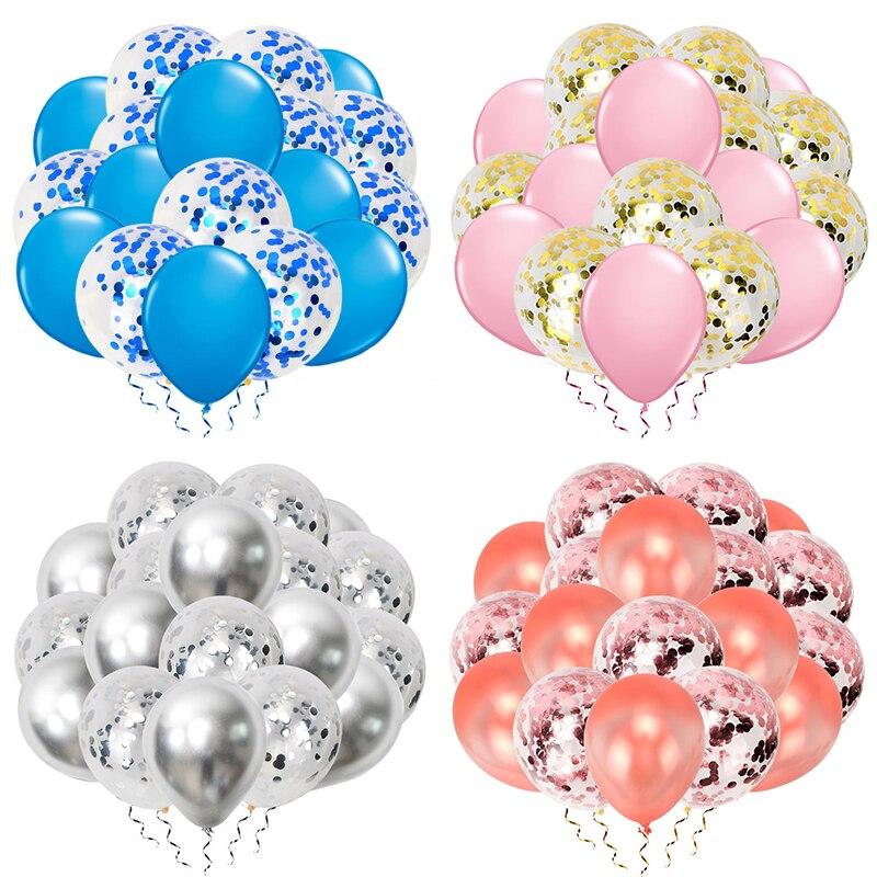 20 шт. 12 дюймов воздушные шары для дня рождения вечерние украшения Принцесса 1-й первый день рождения девочка Мальчик Свадьба только что женатые принадлежности