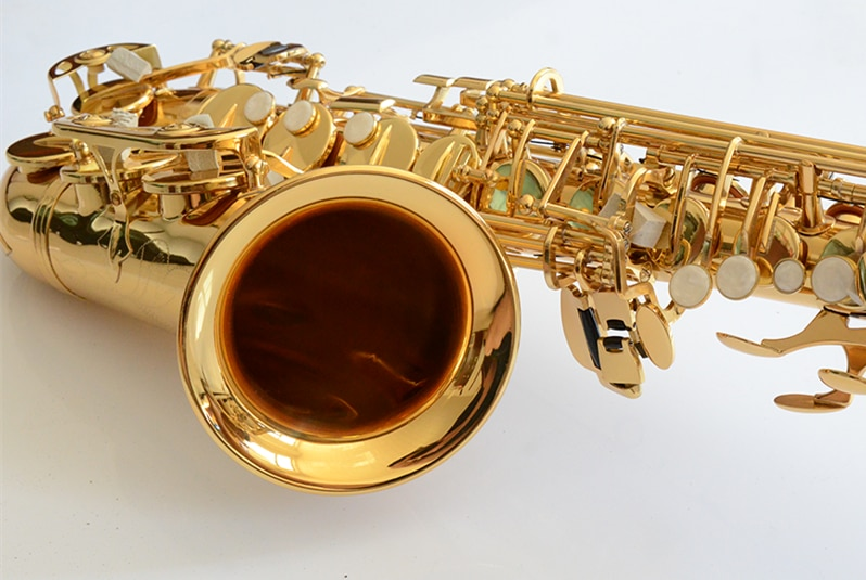 Made in Japan 875 Professional Alto Drop E Saxophone Gold Alto Saxophone with Band Mouth Piece Reed Aglet More Package mail enlarge