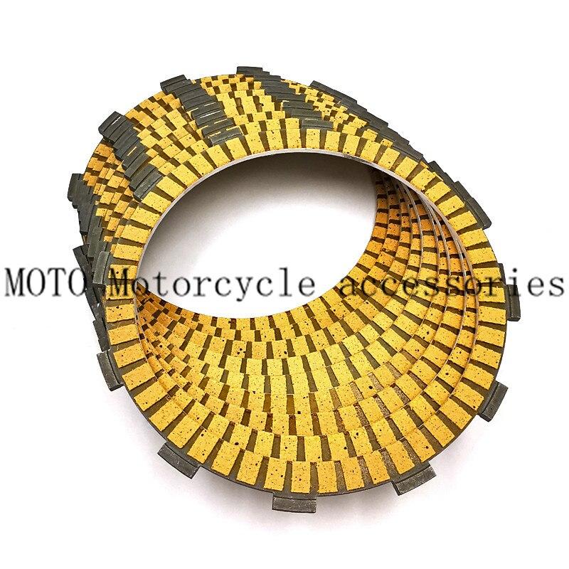 Kit de Placas de fricción de embrague de piezas de motor de motocicleta 9 Uds. Para Harley Touring, King Electra Glide, Fatboy Softail
