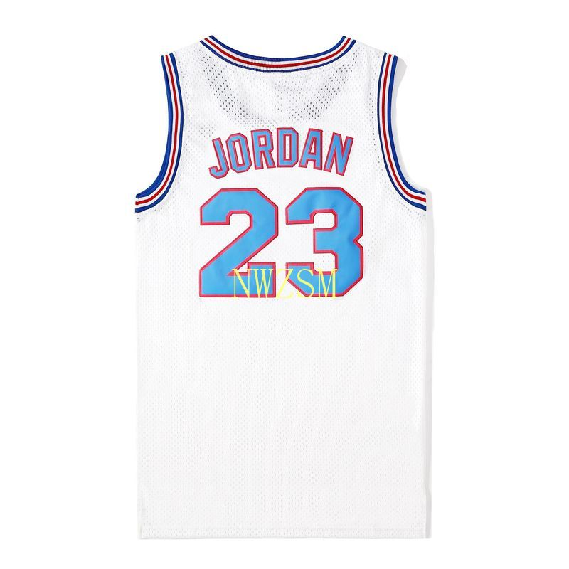 Movie Cosplay Costumes Space-Jam Tune-Squad #23 #1 BUGS #10 LOLA #22 Murray Bunny Basketball Jersey Stitched Number
