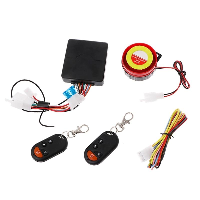 Fiets Motorfiets Alarmsysteem Startonderbreker Afstandsbediening Motor Start