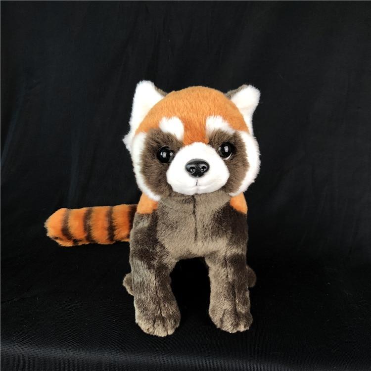 50 см имитация животного красная панда плюшевая игрушка кукла красная панда Детская плюшевая кукла кавайные плюшевые игрушки для детей Бесп...
