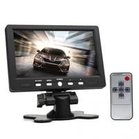 7 inch 800 x 480 eu plug standard color tft lcd screen av vga car rear view monitors