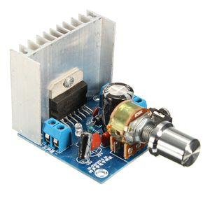 Плата усилителя tda7297, плата цифрового усилителя, двухканальная Плата усилителя, готовая, без шума, 12 В, двойной 15 Вт (тип A), 1 шт.