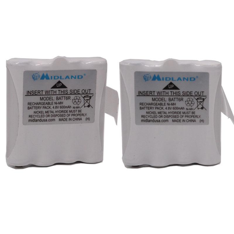 PB-G8 PB-G6 PBG8 Ni-MH pour Midland G6 G8 M24 M48 M99 LXT-325 LXT Série Reer 5005 5006 Scopi Alan 441 443 Talkie-walkie
