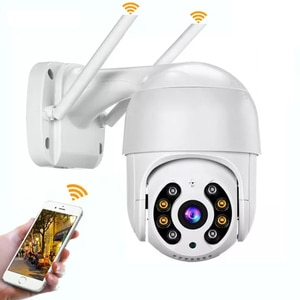 Wifi Security Ip Camera Smart Home PTZ Waterproof Two Way Audio Remotely Control Motion Detection Outdoor CCTV Camera
