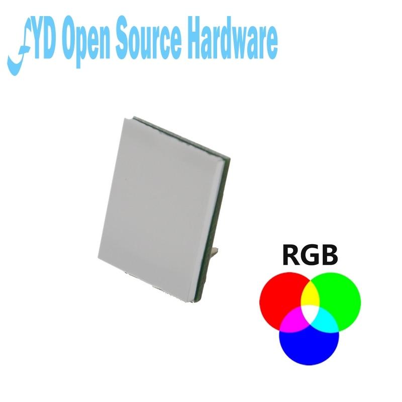 5 uds color RGB serie HTTM 2,7 V-6V MÓDULO DE Interruptor táctil capacitivo fuerte anti-interferencia