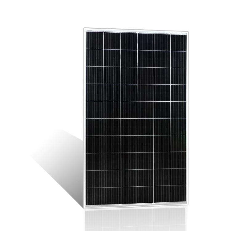 لوحة طاقة شمسية ورقة عالية الكفاءة الخلايا الشمسية ضوء أسود مخصص أفريقيا