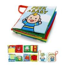 1 ensemble bébé tissu livres Intelligence développement jouet éducatif doux tissu apprentissage Cognize livres pour 0-12 mois enfants livre