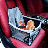 carrier for cat travel dog car seat cover folding pet carriers bag dog accessories mesh bag breathable double layer pet car bag