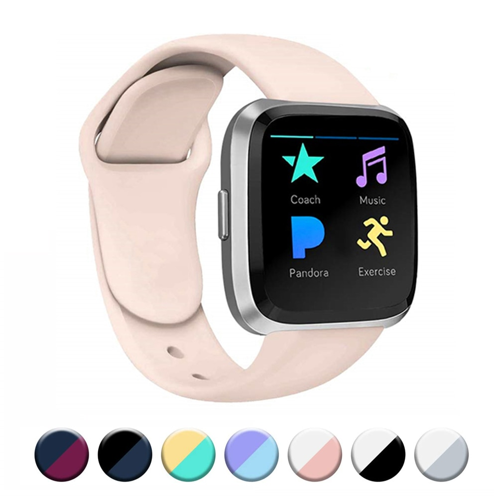 Accessories Band For Fitbit Versa 2 Strap Soft Silicone Wrist Waterproof Replacement Band For Fitbit