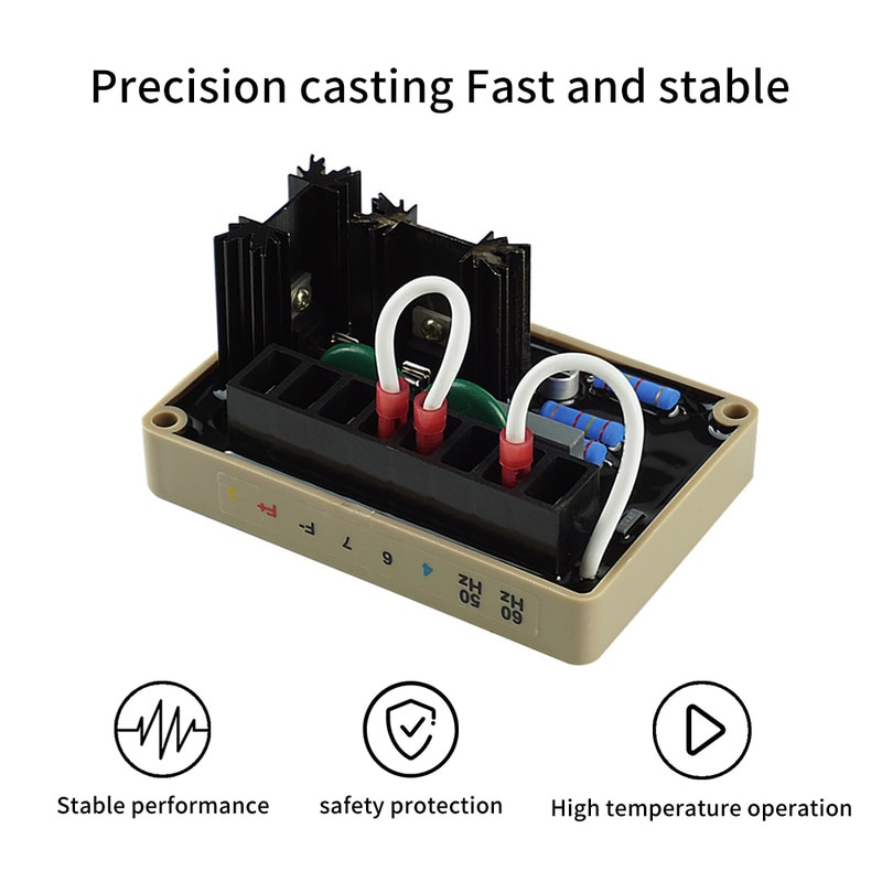 AVR SE350 Automatic Voltage Regulator Generator Controls The Output of A Brushless AC Generator Good Stability Diesel Generators enlarge