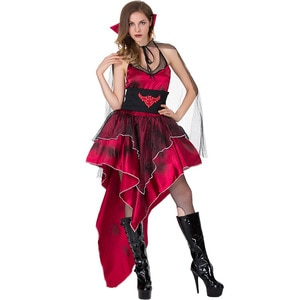 New Halloween Witch Costume Role Cosplay Clothes Vampire Game Uniform Nightclub Role Play Devil halloween costumes for women