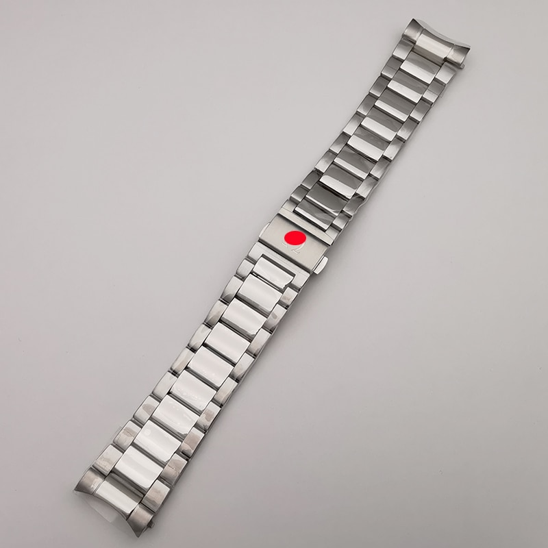 High Quality Good Finished Watch Bracelet Bands For OMG Seamaster 150M, Old Model 20mm 21mm Watch Parts