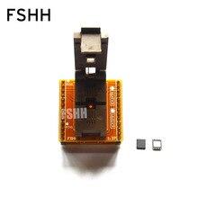 QFN-0808-01 محول QFN8/D8 WSON8-DIP8 برمجة محول DFN5x6A-8 اختبار المقبس
