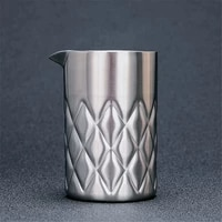 580ml 750ml cocktail mixing glass stirring tin double walled and vacuum insulated for temperature consistency silvercopper