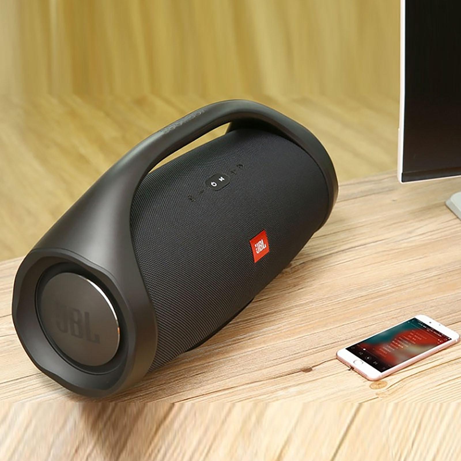 مقاوم للماء مكبر الصوت Boombox 2 ميكرفون بلوتوث محمول مضخم صوت قوي عالية في الهواء الطلق باس المحمولة