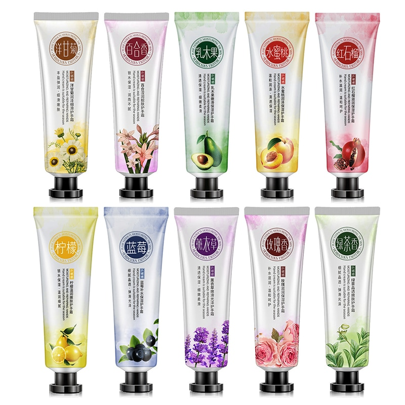 Magical Moisturizing Plant Extract Hand Cream Hand Massage Lotion Repair Anti-cracking High-grade No