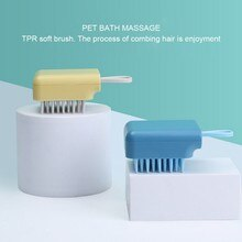 Pet Dog Cleaning Comb Hair Removal Bath Beauty Massage Hair Brush Cat and Dog Comb Cleaning Beauty S