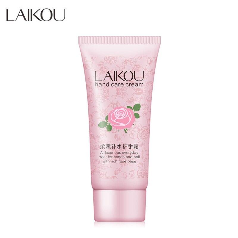 Laikou розовый крем для рук увлажняющий питательный против трещин лосьон для рук растительная эссенция сухая грубая защита уход за кожей 60 г