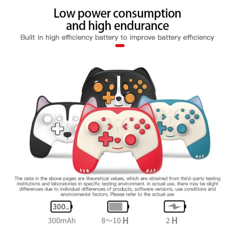 لطيف لاسلكي برو تحكم غمبد ل نينتندو دوس التبديل/LitePro Joypad جويستيك وحدة تحكم التحكم ألعاب اكسسوارات