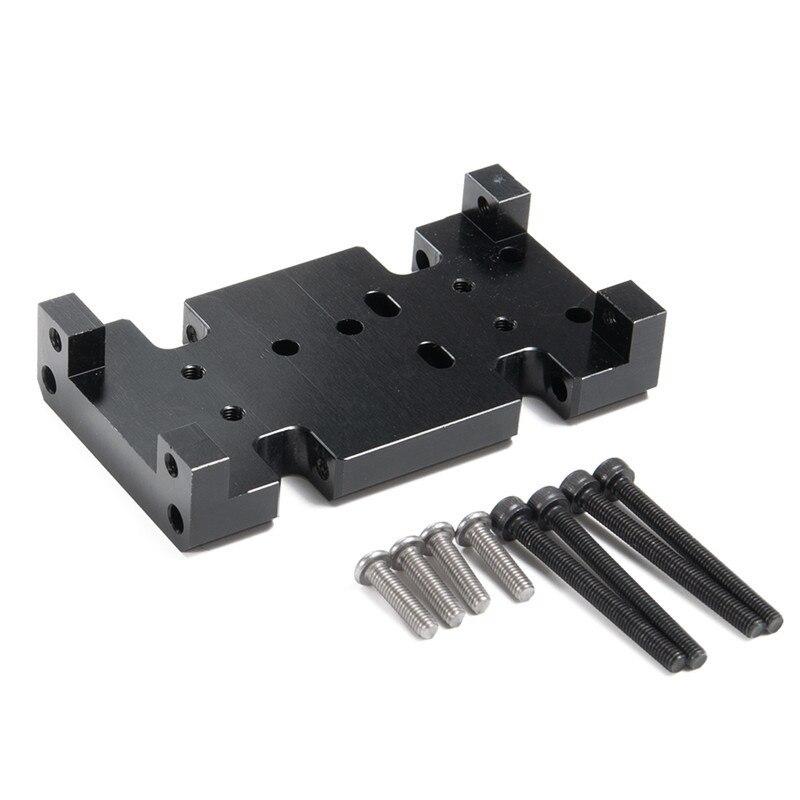 110 Base de coche de escalada/caja de transferencia suelo de Metal SCX10 HSP94180 cambio D90 asiento de caja de ola