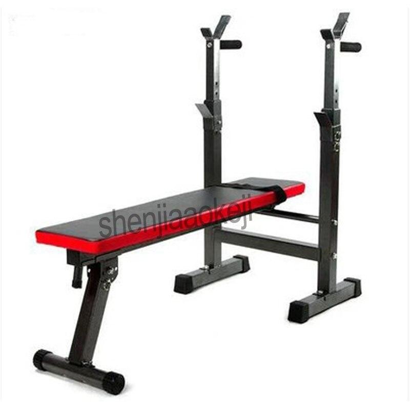 Multifuncional peso banco reclinável treinamento de peso banco haltere cremalheira do agregado familiar gym workout haltere fitness exercício ferramenta