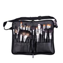 يشكلون حقيبة حقيبة مستحضرات تجميل لطيفة المنظم استوديو الفنان ماكياج جيوب متعددة الوظائف سعة كبيرة حقيبة فرش D300622