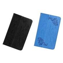 Étui en cuir pour Teclast P80 P80X P80H tablette 8 pouces Anti-chute impression étui en cuir support de tablette
