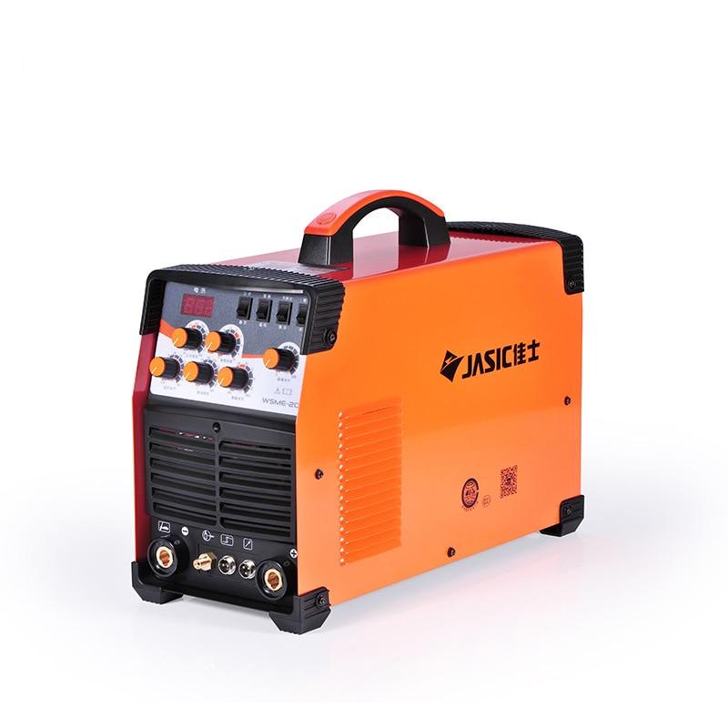 WSME-200 AC DC نبض TIG لحام لحام آلة الألومنيوم MMA 220V الرقمية التحكم من المغنيسيوم-الألومنيوم و سبائك لحام