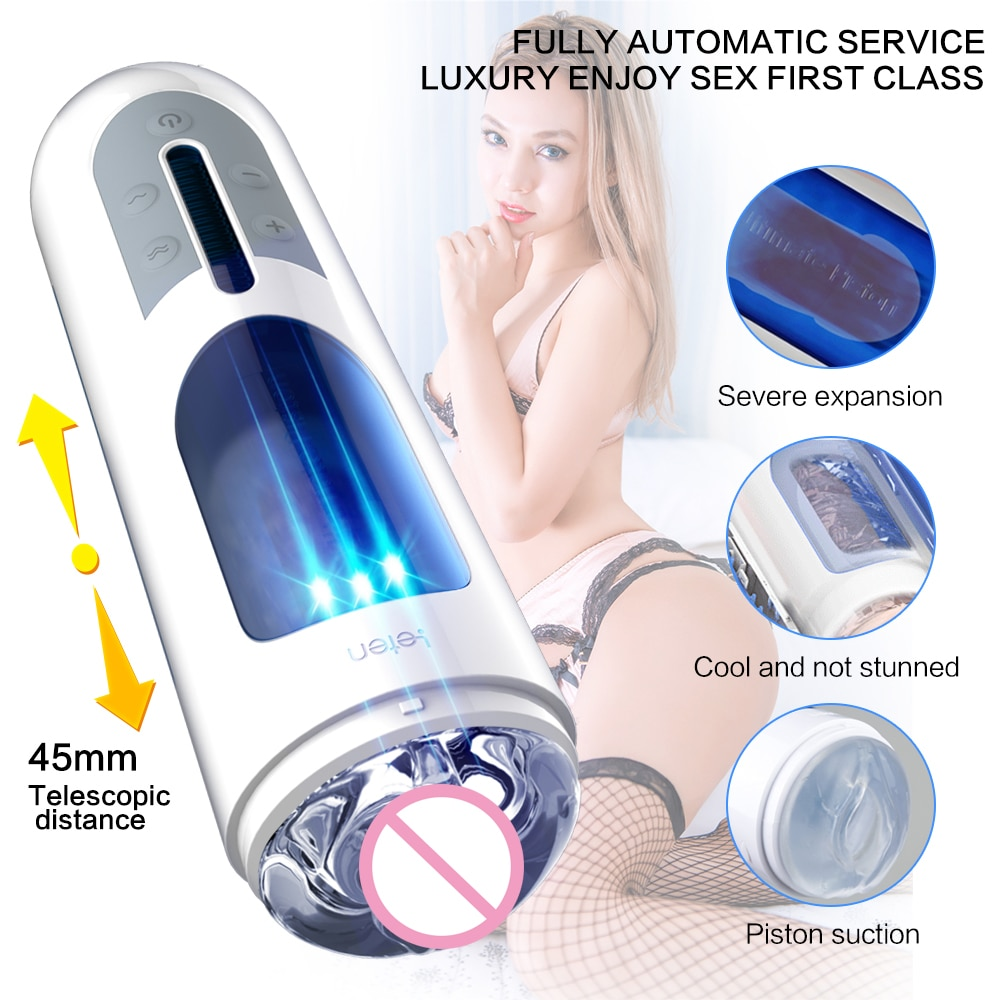 Male Masturbator Cup Soft Pussy Sex Toys Transparent Vagina Adult Endurance Exercise Automatic Masturbatings machine for Men