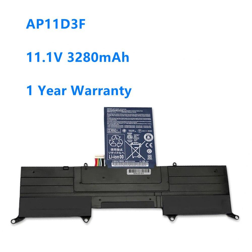 Bateria Para Notebook Acer Aspire S3 S3-951 AP11D3F S3-391 MS2346 AP11D3F 3ICP5/65/88 3ICP5/67/90 AP11D4F 11.1V 3280mAh