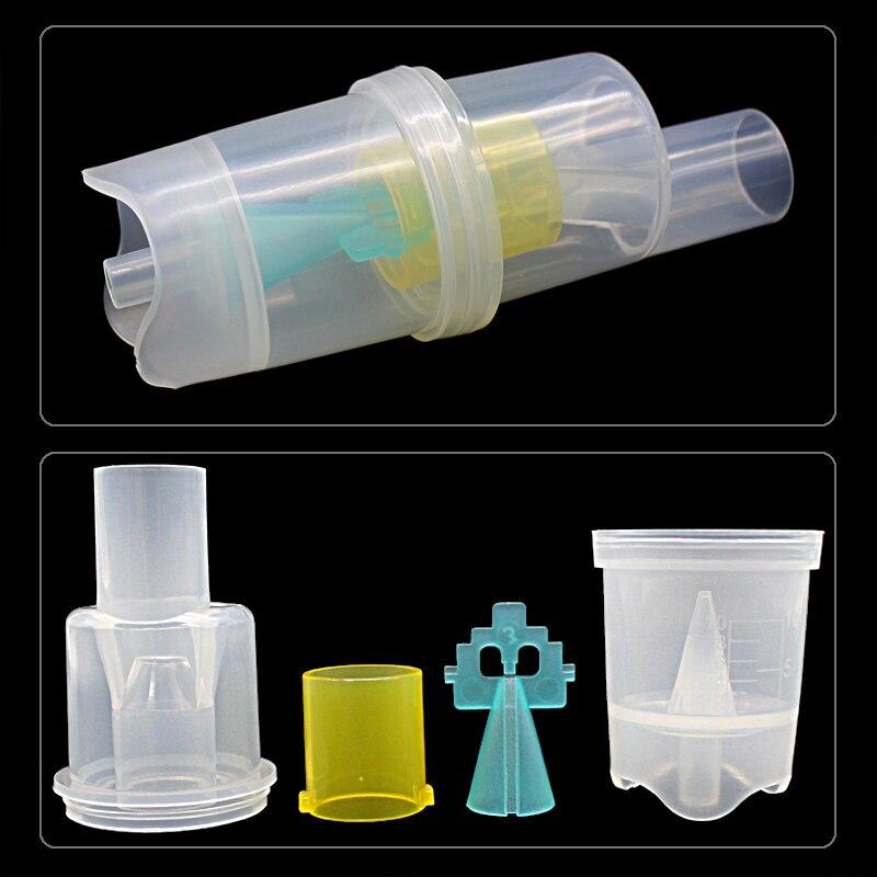 Health Care 10ML Inhaler Parts Medicine Tank Cup Compressor Nebulizer Accessary Atomized Spray Injec