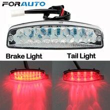 FORAUTO LEDไฟรถจักรยานยนต์Motoไฟท้ายไฟเบรครถจักรยานยนต์อุปกรณ์เสริมสำหรับATV Quad Kart