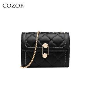 Small Square Bag Women's Designer Brand luxury Handbag 2021 High Quality PU Leather Chain Phone Shoulder Bags