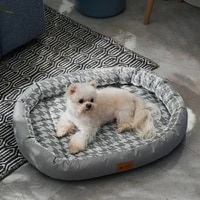 summer bamboo mat cat bed house kennel cushion sofa cat rug dog bed dog house pet beds for dogs cat house cat bed vow pets 2021