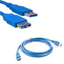 3FT 1M USB 3.0 A haute vitesse 1.3M USB mâle à femelle Extension données cordon de synchronisation câble étendre le câble en gros 2019NEW F822