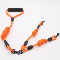 Двойная нейлоновая веревка для собак WALK 2, двойной поводок для двух собак, двойной поводок для ходьбы по выбору