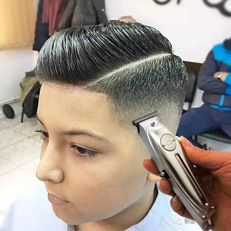 Kemei 1949 Professional Hair Clipper All Metal Men Electric Cordless Hair Trimmer 0mm Baldheaded T B