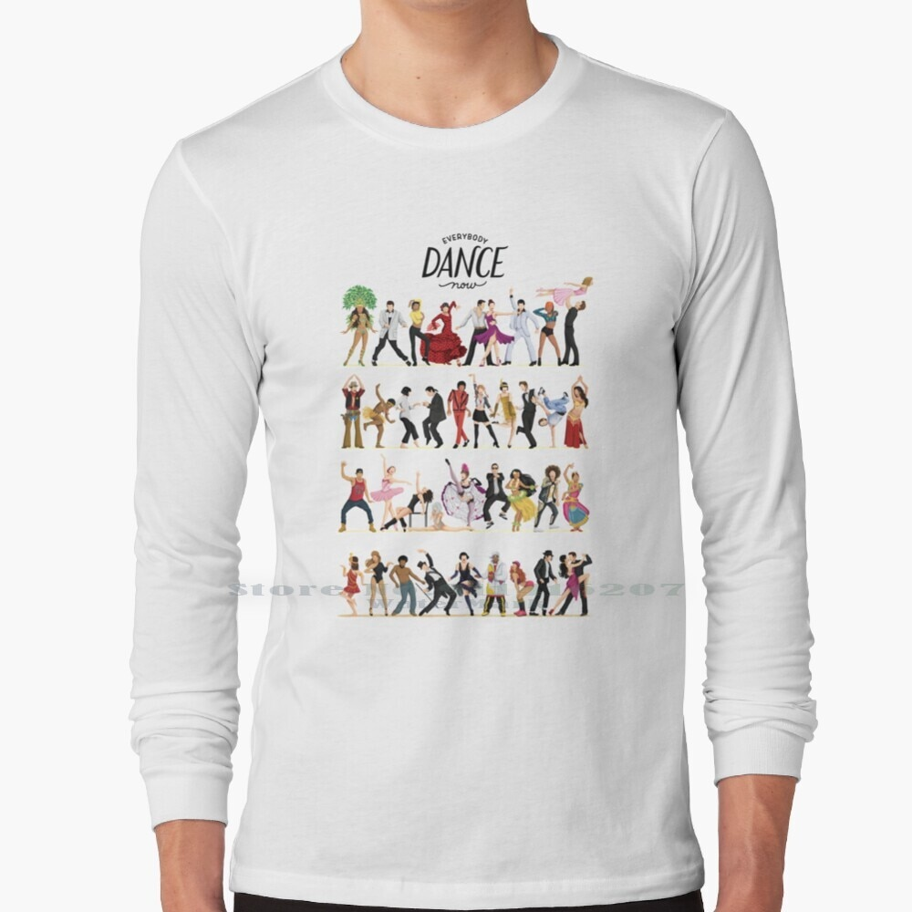 Everybody Dance Now T Shirt 100% Pure Cotton Everybody Dance Now Music Pop Culture For Her Fun Pop Art Dancing For Him Dance