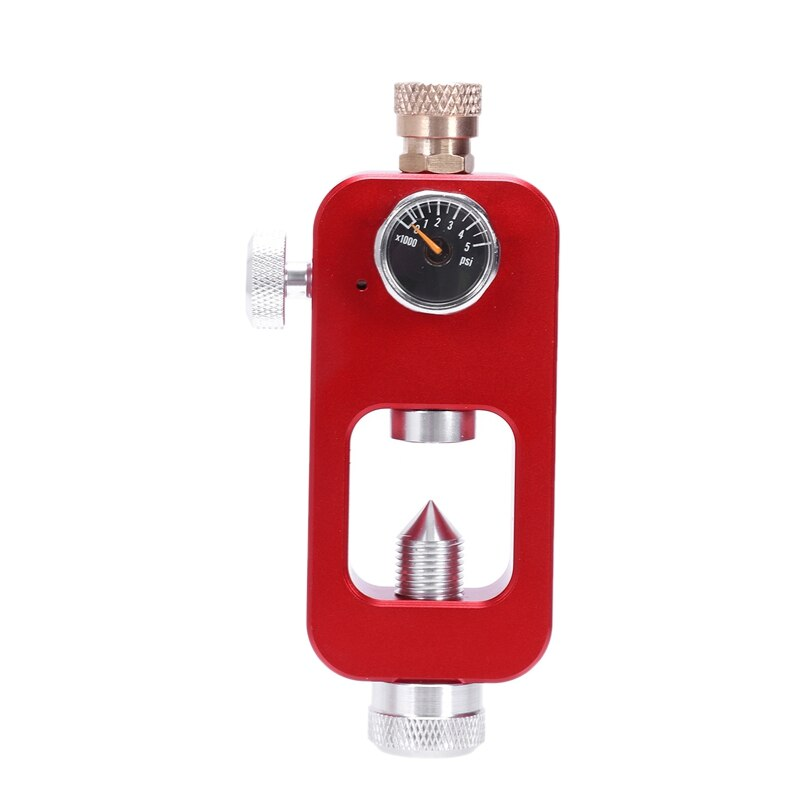 DIDEEP Mini Oxygen Bottle Scuba Adapter Underwater Respirator Swimming EQuipment Red