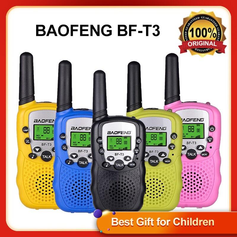 Портативная мини-рация Baofeng, портативная рация для детей, 0,5 Вт, каналов, портативный Радиоприемник PMR/FRS/GMR