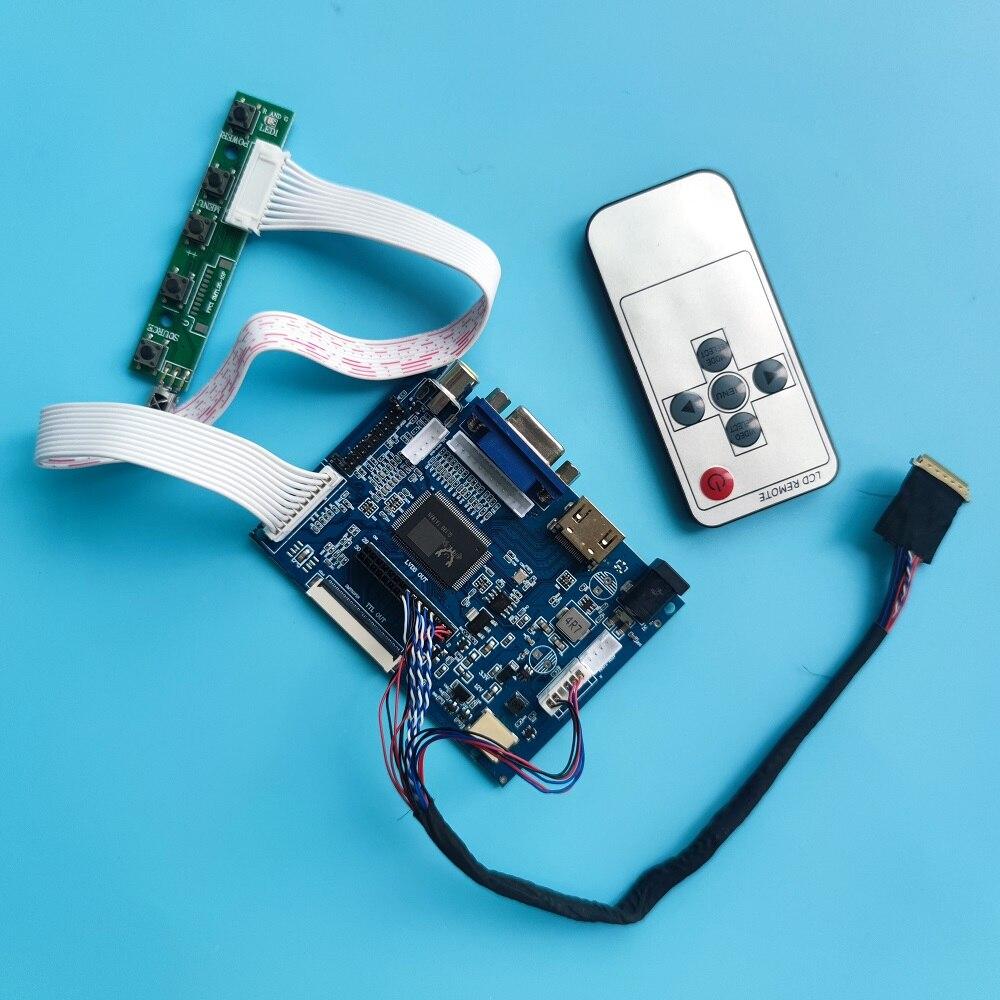 ل B140EW01 V0 B140EW01 V1 B140EW01 V3 B140EW01 V5 2AV لوحة تحكم مجلس شاشة LCD LED HDMI-متوافق VGA عدة العمل