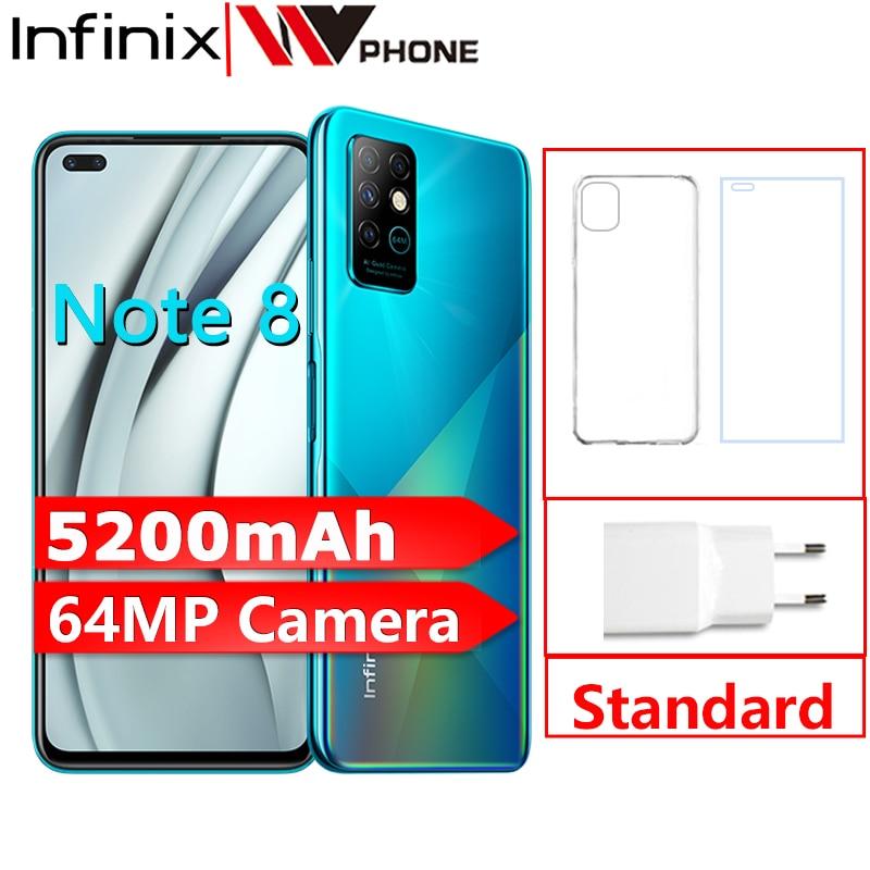 Infinix Note 8 6GB 128GB Global Version Mobile Phone 6.95'' HD+ Display 5200mAh Battery 18W Fast Cha