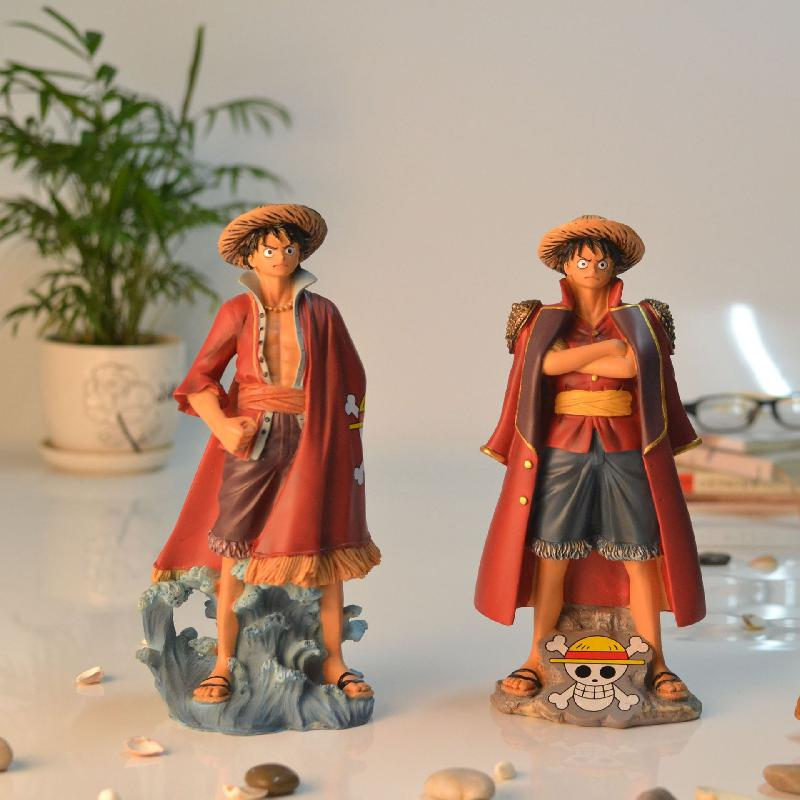 Pirate king handmade home accessories resin student gifts Luffy model Cartoon Desktop accessories birthday gifts children's toys