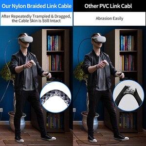 Image 2 - 5 м линия передачи данных для Oculus Quest 2 подключения гарнитуры USB 3,0 Тип C для зарядки и синхронизации данных кабель передачи Тип с разъемами типа C и USB A Шнур Очки виртуальной реальности VR аксессуары
