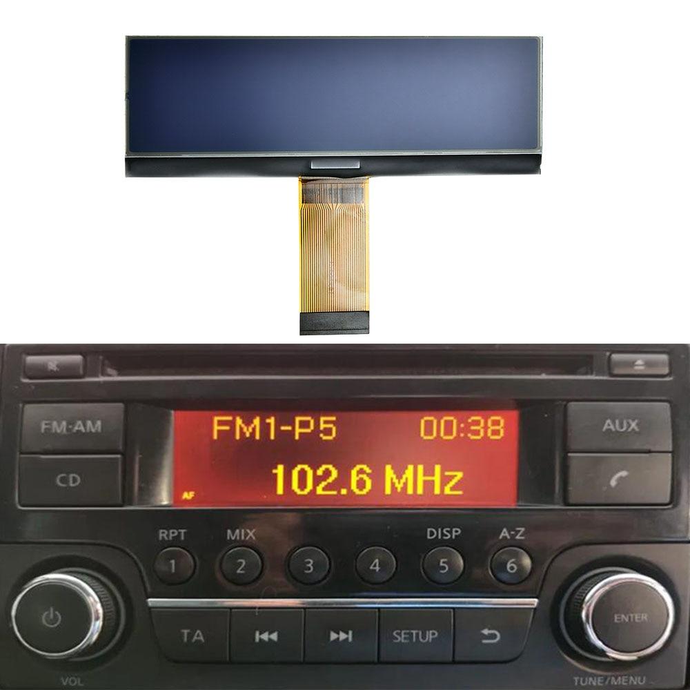 Car Radio display for Deawoo radio LCD Screen Pixel Repair For Nissan Qashqai X-Trail Frontier juke Dualis Navara Suzuki Equator