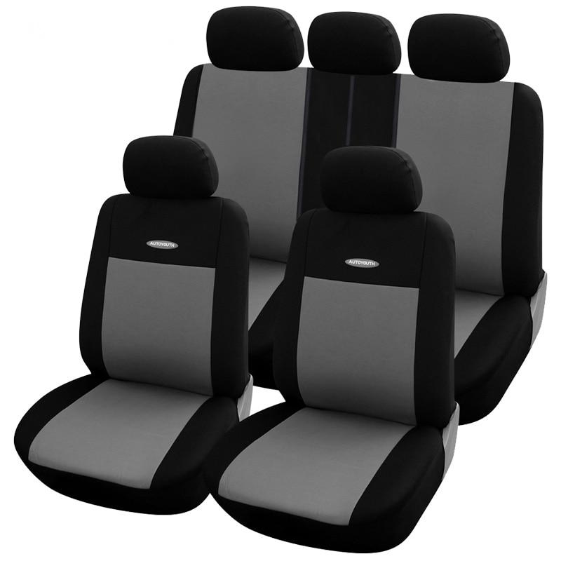 Cobertura completa de fibra linho cobertura assento do carro tampas de assentos automóveis para nissan almera n16 g15 clássico altima juke chutes março micra